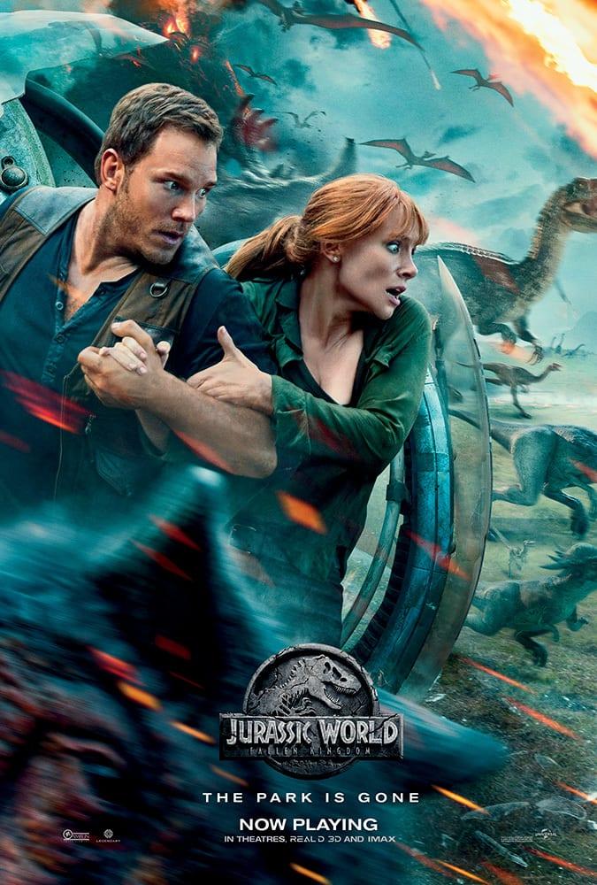 Capa Jurassic World : Reino Ameaçado Dublado Torrent